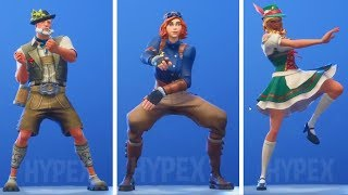 "ALL SEASON 6 SECRET SKINS & EMOTET! -""Fortnite News"" English"