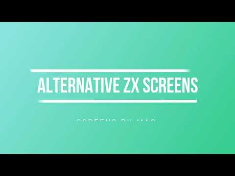 Alternative ZX Spectrum Screens by MAC