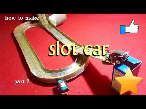 how to make slot car part 2 ~making of tracks~diy