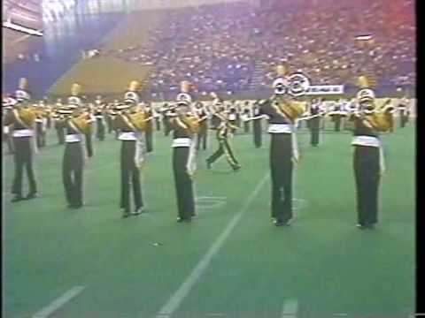 Tuscola High School Marching Band 1983 - Finals