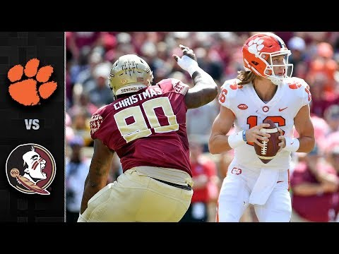 Clemson vs. Florida State Football Highlights (2018)