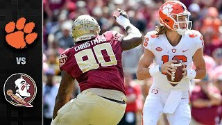Clemson vs. Florida State Football Highlights (2018)