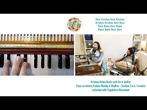 Download Hare Krishna ❤️  Kirtan Class on Aindra Prabhu Melody & Rhythm Section 2 in 4/4 metre 🙏 Subscribe ↘️