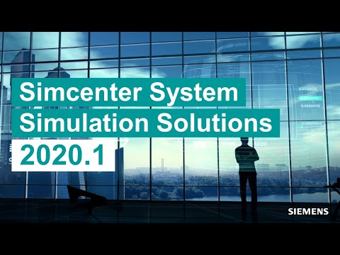 [WHAT'S NEW] Simcenter system simulation solutions 2020.1