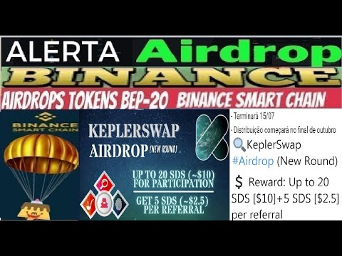 【Airdrop KleplerSwap NEW ROUND】Ganhe 20 SDS Tokens ($10) | 5 SDS ($2.5) por Referido | Renda Extra