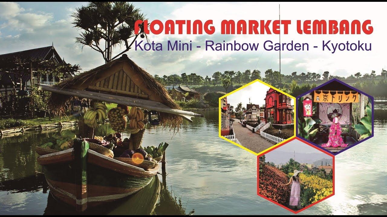 Floating Market Lembang | Kota Mini - Rainbow Garden ...