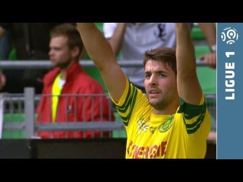 But Filip DJORDJEVIC (17') - Stade Rennais FC - FC Nantes (1-3 - 2013/2014