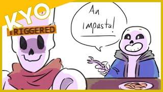 Personne N'Aime Sans' Jeux De Mots (Hilarant Undertale Comique Dub)