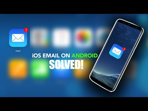 PROBLEM FIXED! Use APPLE iCloud email (or  me) on your ANDROID Device 2019  | No download | EASY!