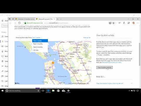How to disable the Location features in Windows 10 (Creators Update)