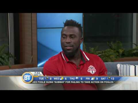 TFC's Jozy Altidore on the franchise's first home playoff game
