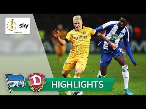 Hertha BSC - Dynamo Dresden | Highlights - DFB-Pokal 2019/20 | 2. Runde
