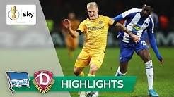 Pokal-Thriller in Berlin! | Hertha BSC - Dynamo Dresden 3:3 (5:4 i.E.) | Highlights - DFB-Pokal