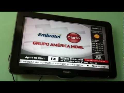 Via Embratel agora é Claro TV
