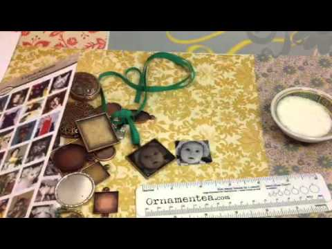 How To Make A Photo Pendant with Resin