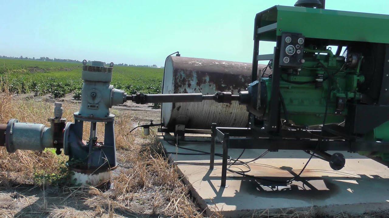 6 Cylinder Diesel Engine Driving 3300 Gpm Center Pivot