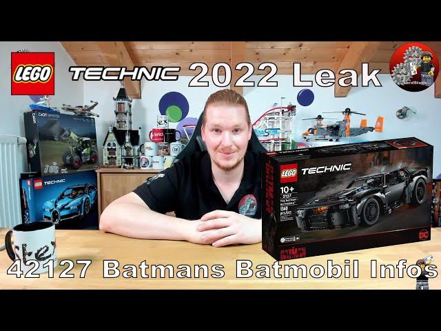 LEGO® Technic Neuheiten 2022 Leak | Lego® 42127 Batmans Batmobil | Alle Bilder und Infos