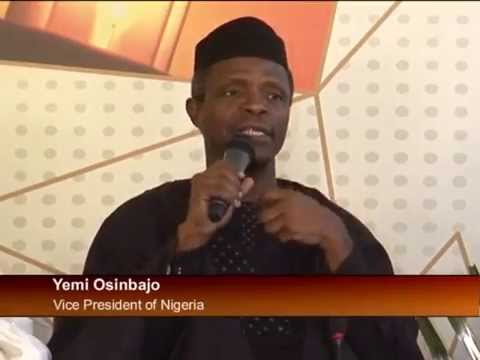Vice President Osinbajo in Cote D'voire for African Energy Leaders Group Meeting
