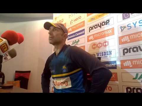 Sri Lanka coach Nic Pothas seeks free hand after opening ODI loss to India