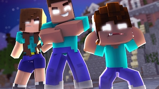 - Minecraft WHO S YOUR FAMILY O BEB MEDROSO DA FAMLIA HEROBRINE