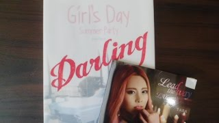 unboxing girl s day everyday 4 darling and t ara lead the way qri ver unboxing