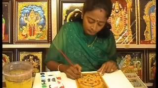 The Longest Tanjore Painting Marathon (Female)