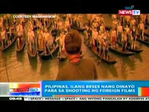 NTG: Pilipinas, ilang beses nang   dinayo para sa shooting ng   foreign films