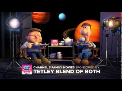 Tetley Blend Of Both, sponsors Channel 5 Family Movies