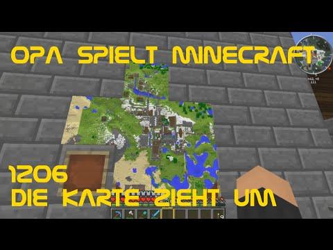 Minecraft Karte.Opa Spielt Minecraft 1206 Die Karte Zieht Um