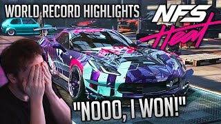 World Record 1:48:20 Speedrun Highlights NFS Heat any% w/DLC | That was embarrassing!