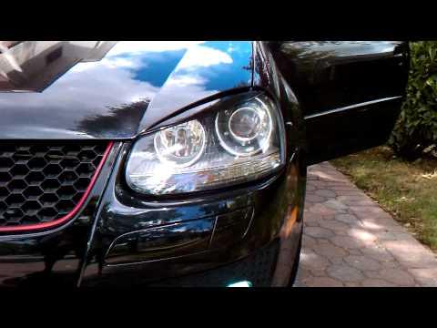 Genuine Vw Gti Drl Led Headlight Installed On Golf Gt Doovi
