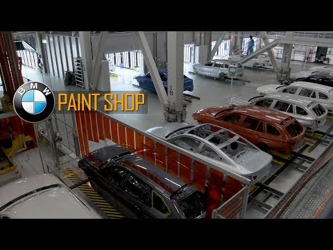 New Paint Shop at BMW Group Plant Munich / Lackiererei BMW Group Werk München