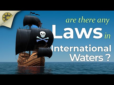 What Law Applies In International Waters?