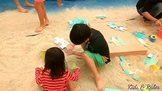 Play Sand Pasir Ajaib Kinetic Sand Mencetak Aneka Hewan, Main Pasir, Seru Banget