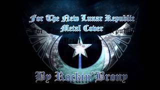 Rockin Brony FTNLR Metal Cover