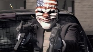Payday 2 - Hoxton Breakout Heist DLC Trailer (Live Action)