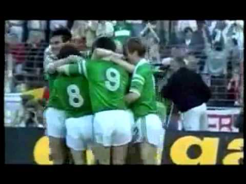 Ronnie Whelan Republic of Ireland v USSR Euro 88