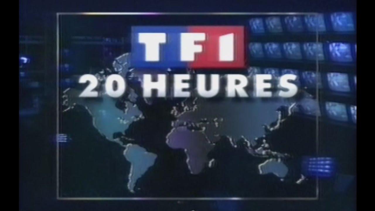 TF1 - Journal de 20 heures (1993) - YouTube