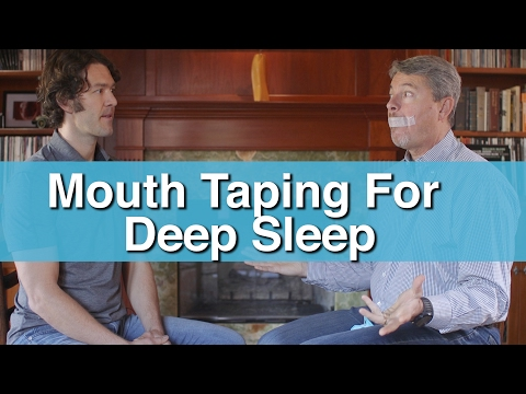 Mouth Breathing & Mouth Taping w/ Dr. Mark Burhenne