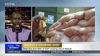 Uganda's national debt triples to more than 50% of GDP