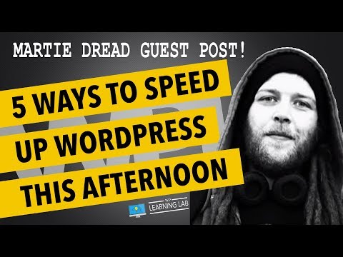 5 Ways To Speed Up WordPress with Martie Dread (Let's Build WP) - 동영상