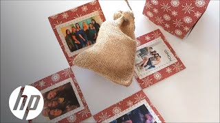DIY Pop Out Photo Gift Box