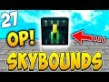 INSANE MONTHLY CRATE GIVES OP ITEMS! | SKYBOUNDS S2 #27 (Minecraft Skyblock)