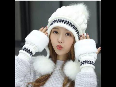 [VIDEO] - Latest Winter Caps Desings 2020 | Cute Trendy Winter Caps For Women | Stylish Winter Cap Desings 6