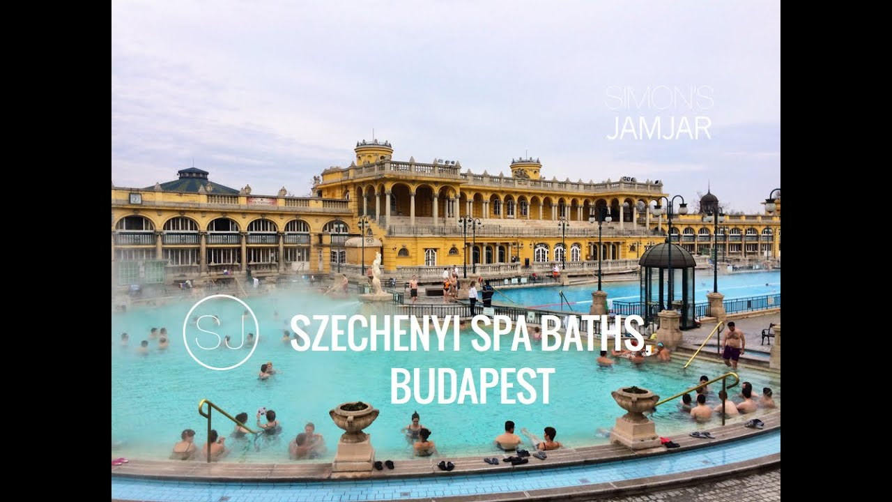 SZECHENYI THERMAL SPA BATHS, BUDAPEST - YouTube