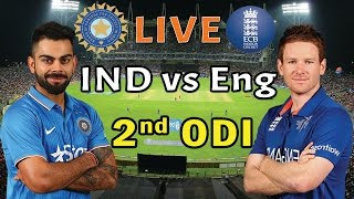 India Vs England 2nd ODI Highlights HD