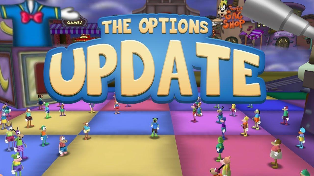 Introducing the Options Update | Toontown Rewritten