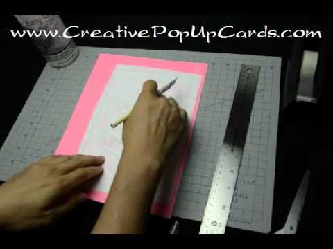 How To Use Templates Make A Pop Up Card