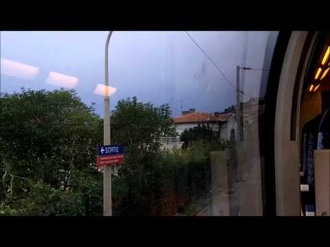 Train Ride from Ventimiglia to Monaco
