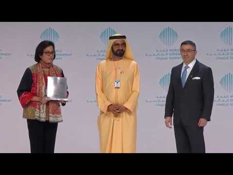 Best Minister In The World - H.E. Sri Mulyani Indrawati _ World Government Summit 2018/Highlights